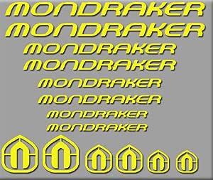 Ecoshirt QA-O2SG-Y1SR Pegatinas Mondraker Bici R180 Stickers ...