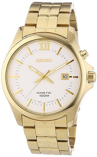 Seiko Kinetic Gold Watch SKA576P1