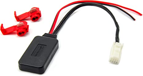Watermark Vertriebs Gmbh Co Kg Bluetooth Aux Adapter Geeignet Für Nissan Subaru Suzuki Mp3 Musik Streaming Elektronik