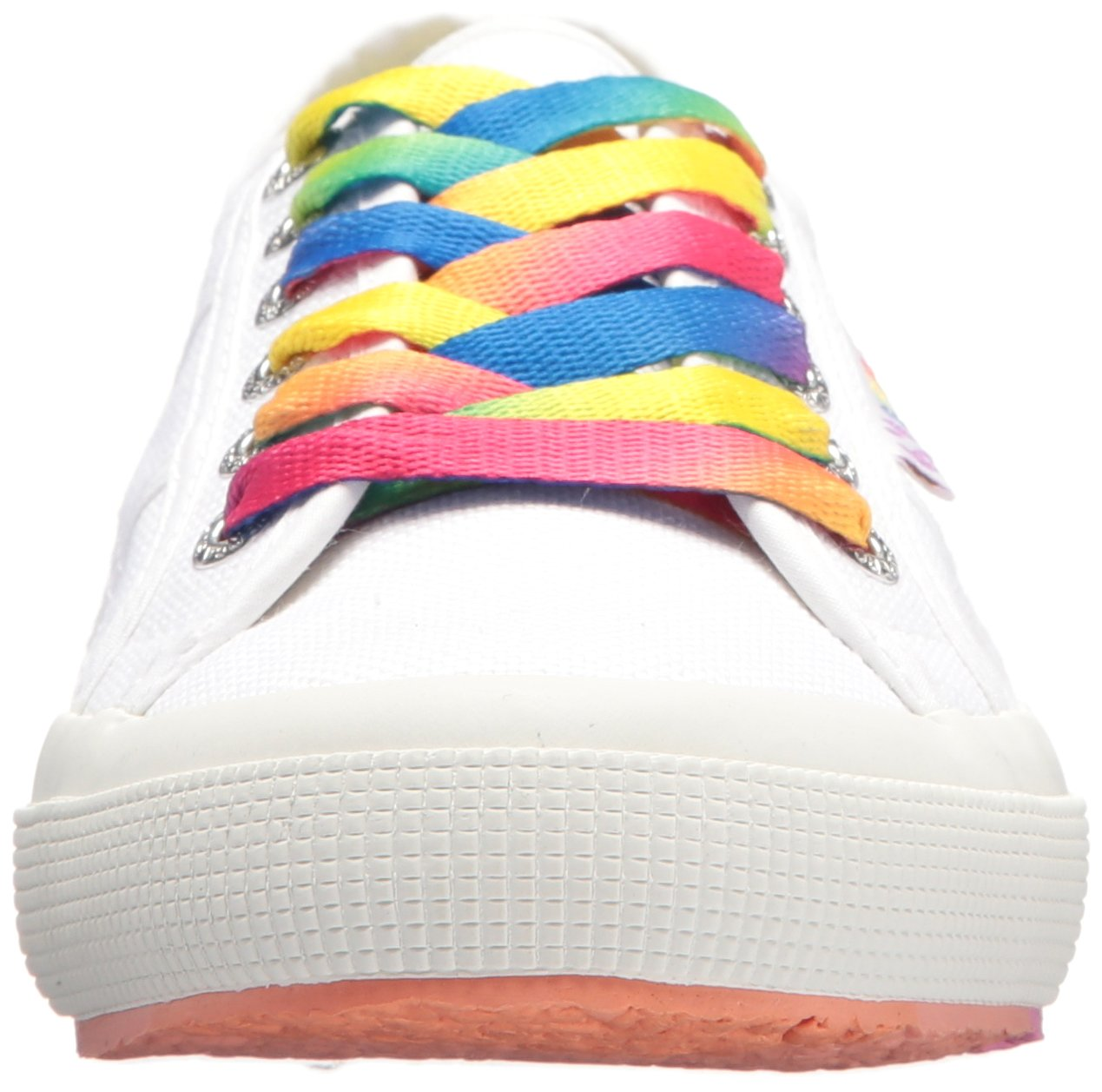 Superga Women's 2750 COTW Multicolor Sneaker B073ZN3ZXK 37.5 M EU (7 US)|White Multi