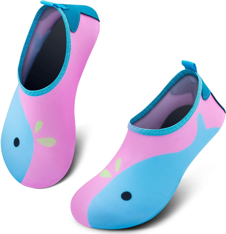 Amazon.com   SIMARI Kids Water Shoes Girls Boys Toddler Quick Dry Anti Slip  Aqua Socks for Beach Outdoor Sports SWS003   Water Shoes