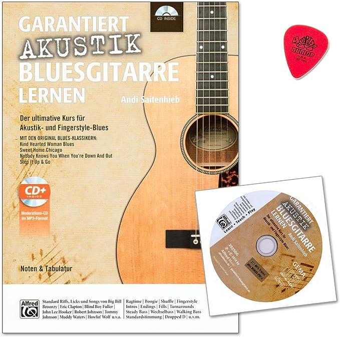 garantiza acústica de aprendizaje Guitarra Blues – conoce la parte ...
