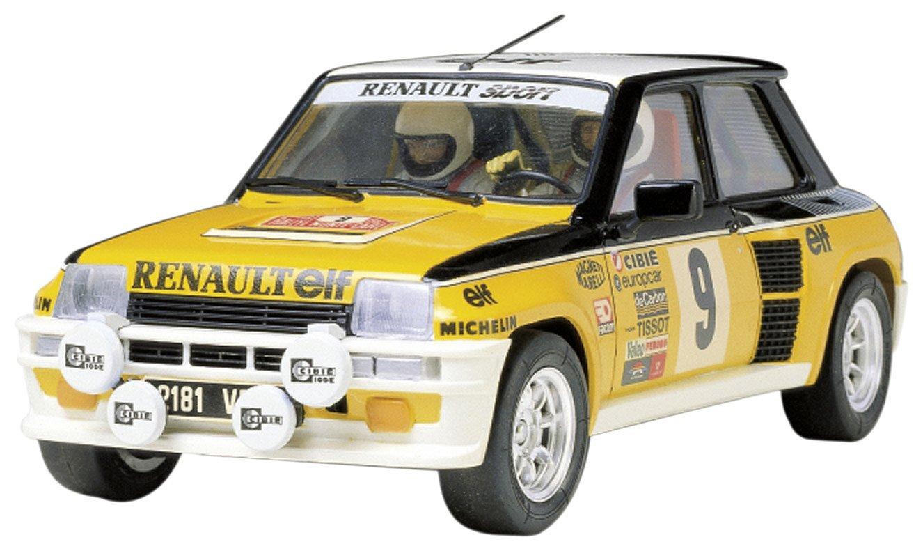 Tamiya 300024027 Renault 5 Turbo 1975 Rally - Coche miniatura (escala 1:24): Amazon.es: Juguetes y juegos