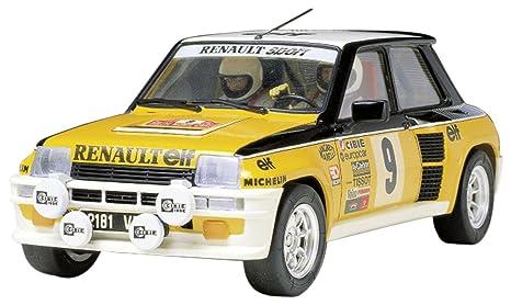 Tamiya 300024027 Renault 5 Turbo 1975 Rally - Coche miniatura (escala 1:24)