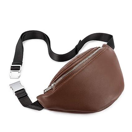 14fe8175106 Realer Fanny Pack for Women Leather Waist bag Fashion Bum Bag
