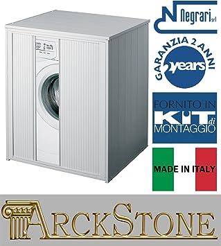 Negrari Xxl Meuble Machine Laver Seche Linge Grand