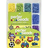 Perler Fused Bead Tray with Idea Book, 4000 Per Package