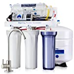 iSpring RCC7P WQA Gold Seal 5 Stages 75GPD Reverse Osmosis Water Filter System