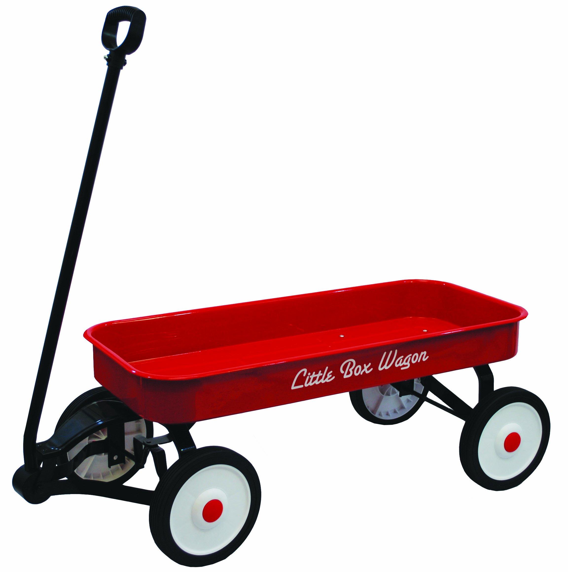 Grand Forward Little Box 34'' Metal Wagon, Red