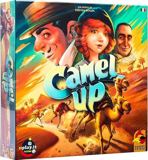 Ghenos Games - Camel Up, multicolor, CMPU , color/modelo surtido: Amazon.es: Juguetes y juegos
