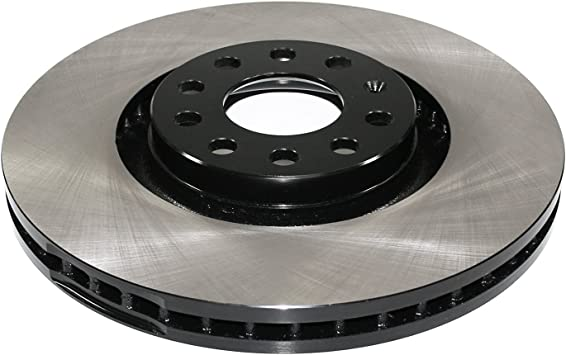 Front Discs Brake Rotors For Audi A4 2.0T 2005-2008 2WD Drilled and Slotted