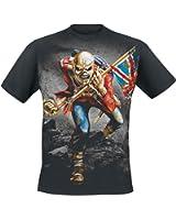 Iron Maiden The Trooper T-Shirt schwarz