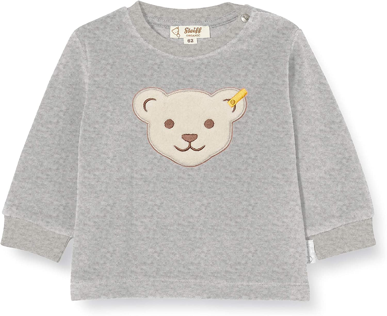 Steiff Baby-Jungen Mit S/ü/ßer teddyb/ärapplikation Pullover