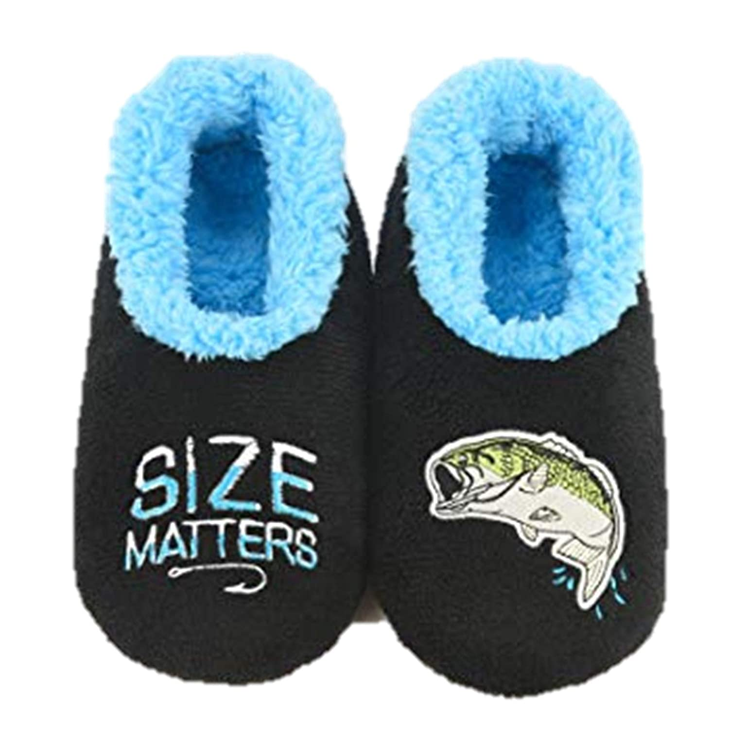 Snoozies Mens Pairable Slippers Multiple Sizes and Styles Comfortable Slippers for Men Soft Sole Mens House Slippers Fuzzy Mens Slipper Socks