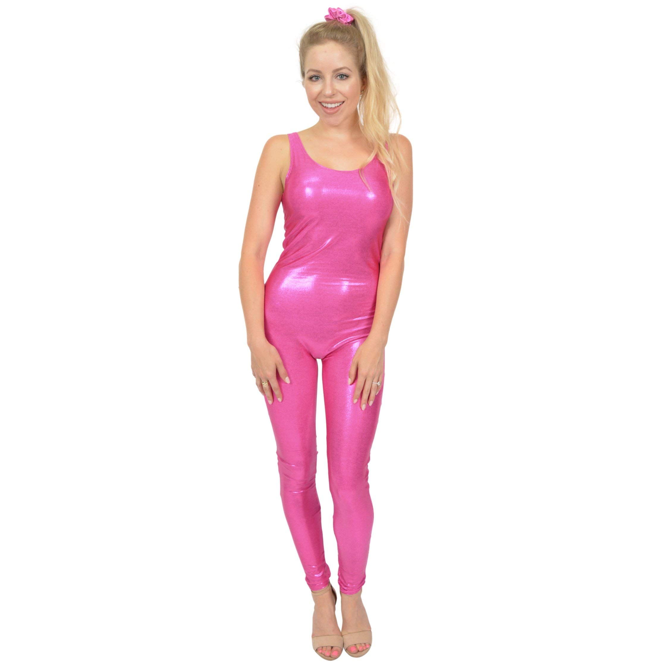 Stretch is Comfort Women's Mystique Unitard Doll Costume Hot Pink X-Large by Stretch is Comfort