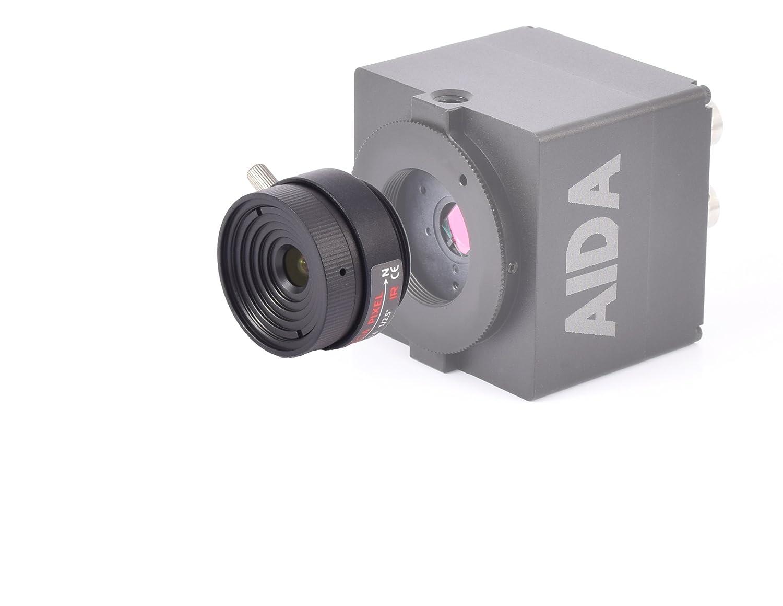 Aida CS-6.0 F CS Lente de la cámara HD de Pantalla Plana 6 mm: Amazon.es: Electrónica