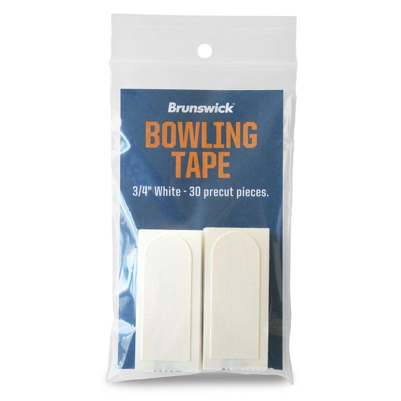 Brunswick 3/4Blanc Bowling Tape 30STK.–Adhésif Elysée dans Un Trou de Pouce
