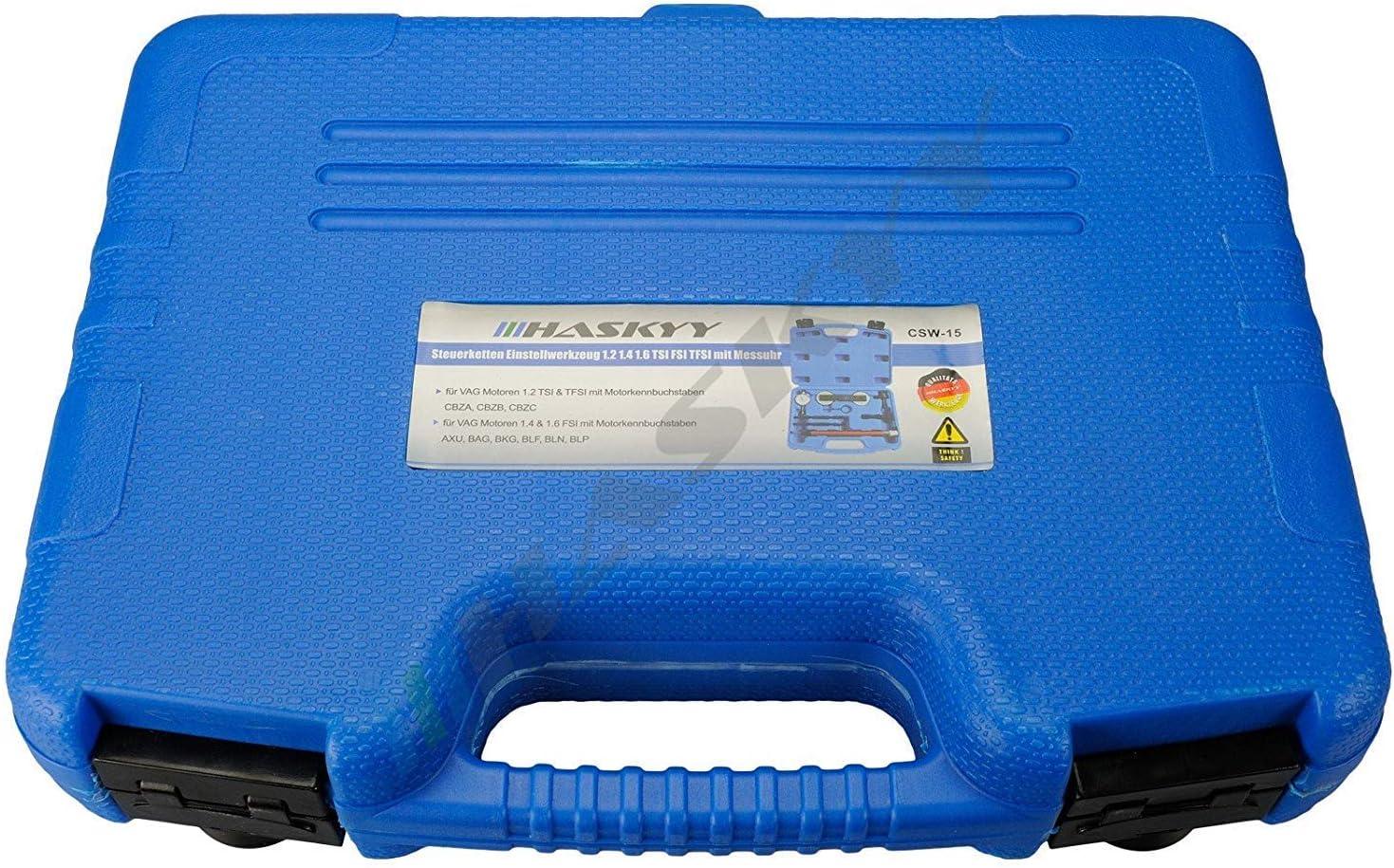 Motor Einstellwerkzeug Satz Steuerkette Vag 1 2 1 4 1 6 Tsi Fsi Tfsi Messuhr Baumarkt