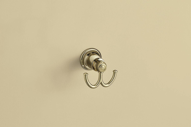 Moen YB5403ORB Kingsley Double Robe Hook, Oil Rubbed Bronze - Bath Towel Hooks -