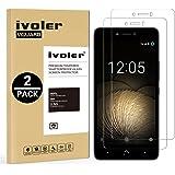 iVoler [2 Unidades] Protector de Pantalla para BQ Aquaris U Plus/U/Ulite, Cristal Vidrio Templado Premium