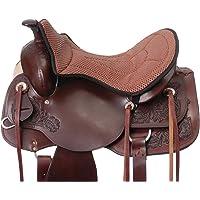 Tough 1 Air Flow Western Seat Cushion, Brown