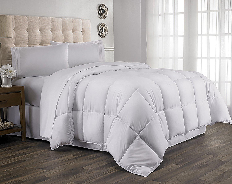 Amazon.com: Queen Comforter, Year Round Down Alternative Comforter ...