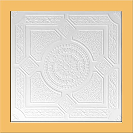 white styrofoam ceiling tile lima package of 8 tiles other sellers call this