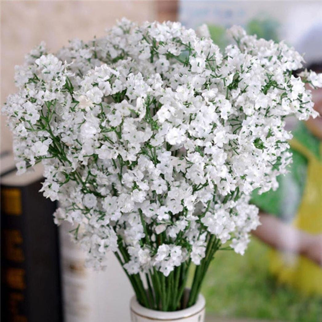 Amazon Kemilove 10pcs 1bouquet Artificial Gypsophila Flower