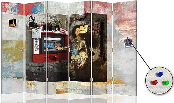 carowall CAROWALL.COM Separador Arte Digital Visual 6 Paneles ...