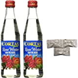 (pack of 2)Premium Rose Water by Cortas. Imported from Beirut Lebanon. Includes Our Exclusive HolanDeli Chocolate Mints.