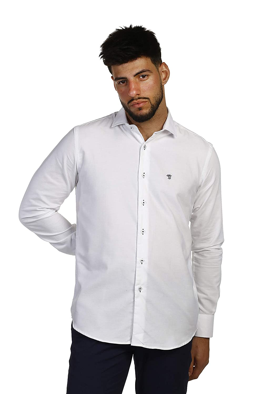 L THE TIME OF BOCHA Man Shirt Premium blanc
