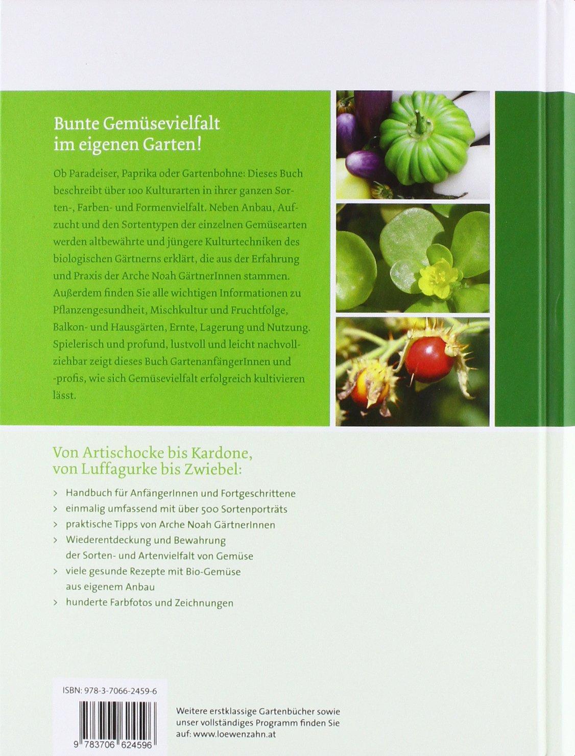 Handbuch Bio-gemüse. Sortenvielfalt Für Den Eigenen Garten: Amazon ... Gemuse Im Spatsommer Sorten Garten Tipps