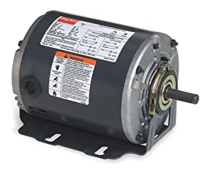 Belt Drive Motor, Split-Phase, 1725 Nameplate RPM, 115 Voltage, Frame 48, 1/2 hp