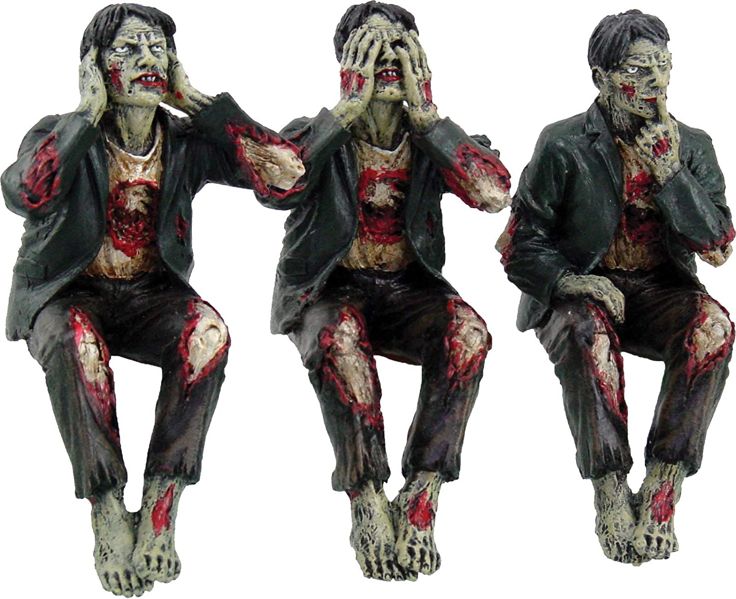 Nemesis Now See No, Hear No, Speak No Evil Zombies - Figura ...