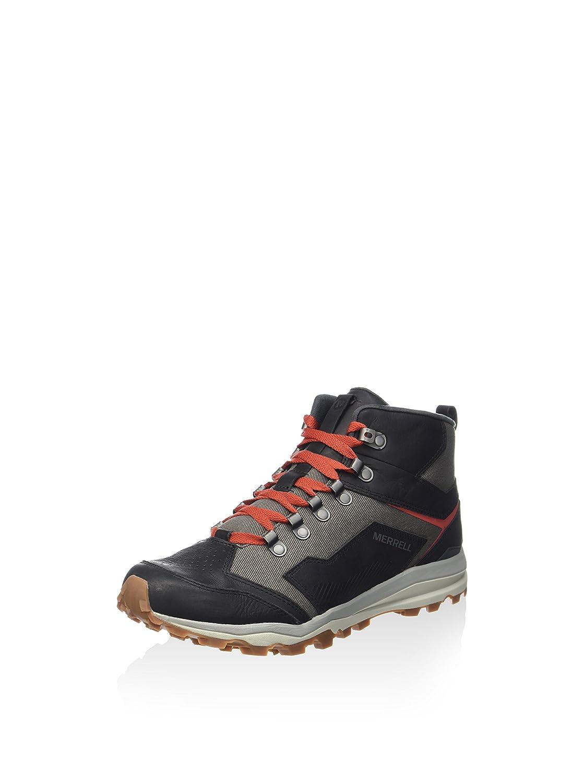Merrell , Herren Outdoor Fitnessschuhe Schwarz schwarz grau