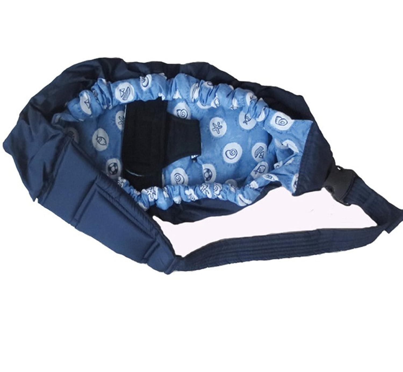 MEISHINE® Baumwolle Einstellbar Neugeborene Baby Carrier Baby Wrap Baby Sling Babytragetuch Tragehilfe Babyträger Bauchtrage (Rose) MSEAB