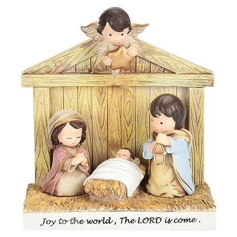 Dibujos De Navidad Del Nacimiento De Jesus.Yuywoo Cristiano Regalos Dibujos Animados Belen Escena