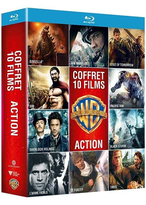 Collection de 10 films action Warner Francia Blu-ray: Amazon.es