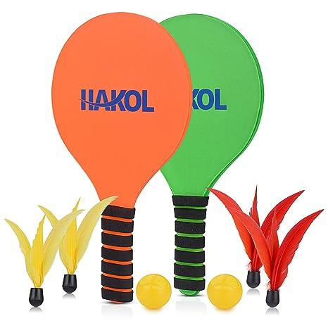 Hakol - Pelota de pádel de 2 jugadores - 2 almohadillas ...
