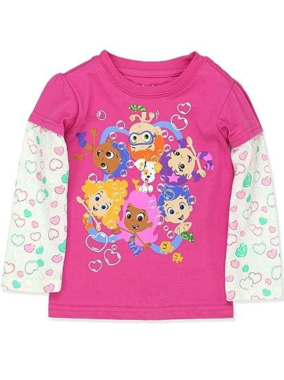 c141c9b38e Amazon.com  Bubble Guppies Toddler Girls T-Shirt Tee  Clothing