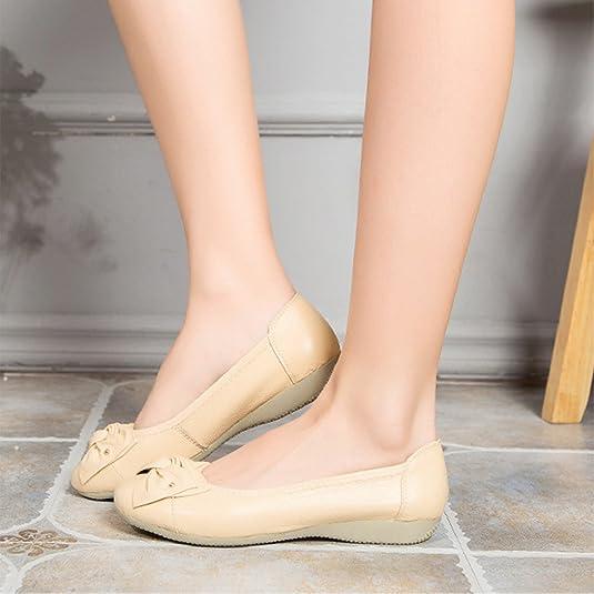 c42a8adbbf1ca Frestepvie Ballerines Plate Chaussure Bateau Femme Fille Flat Shoes Mode  Simple Confortable Elégant Bateau Casual Espadrilles  Amazon.fr  Chaussures  et Sacs