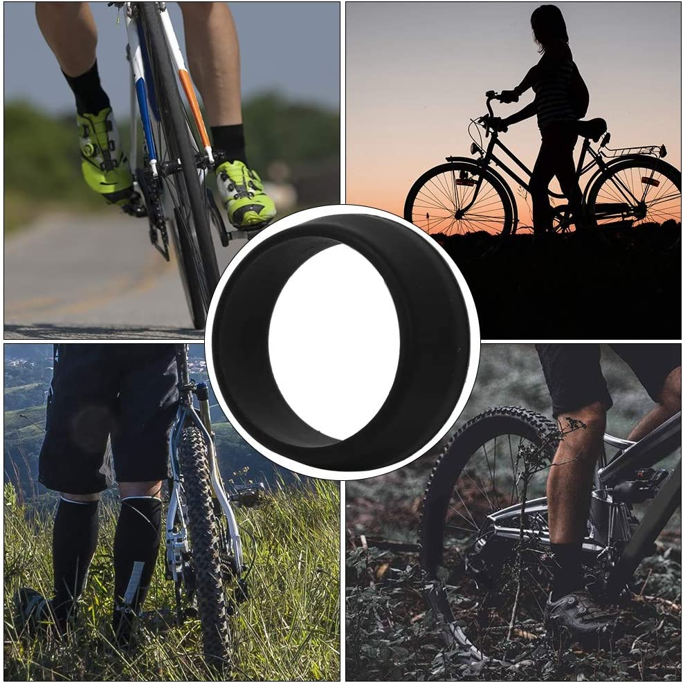 Bike Seat Post Ring Dust Cover Silicone Waterproof Bicycle Seatpost Accessories