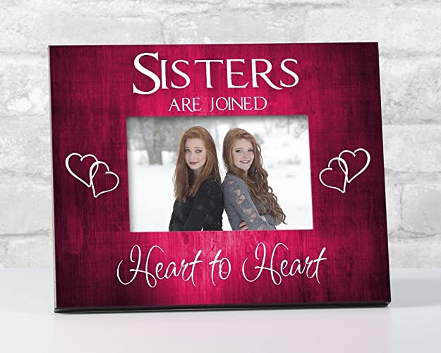 Amazon Sister Frame Birthday Gift Sisters Picture