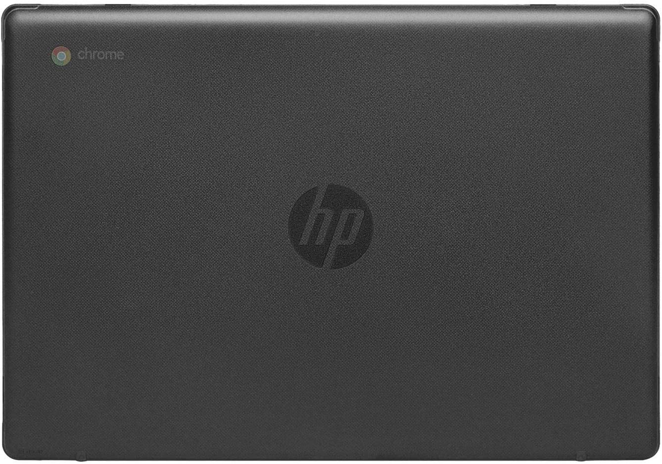 "mCover Hard Shell Case for 2020 14"" HP Chromebook 14a Series (Like 14a-na0023cl Sold at Costco, NOT Compatible with Older HP C14 G1 / G2 / G3 / G4/ G5 / G6 Series) laptops (Black)"