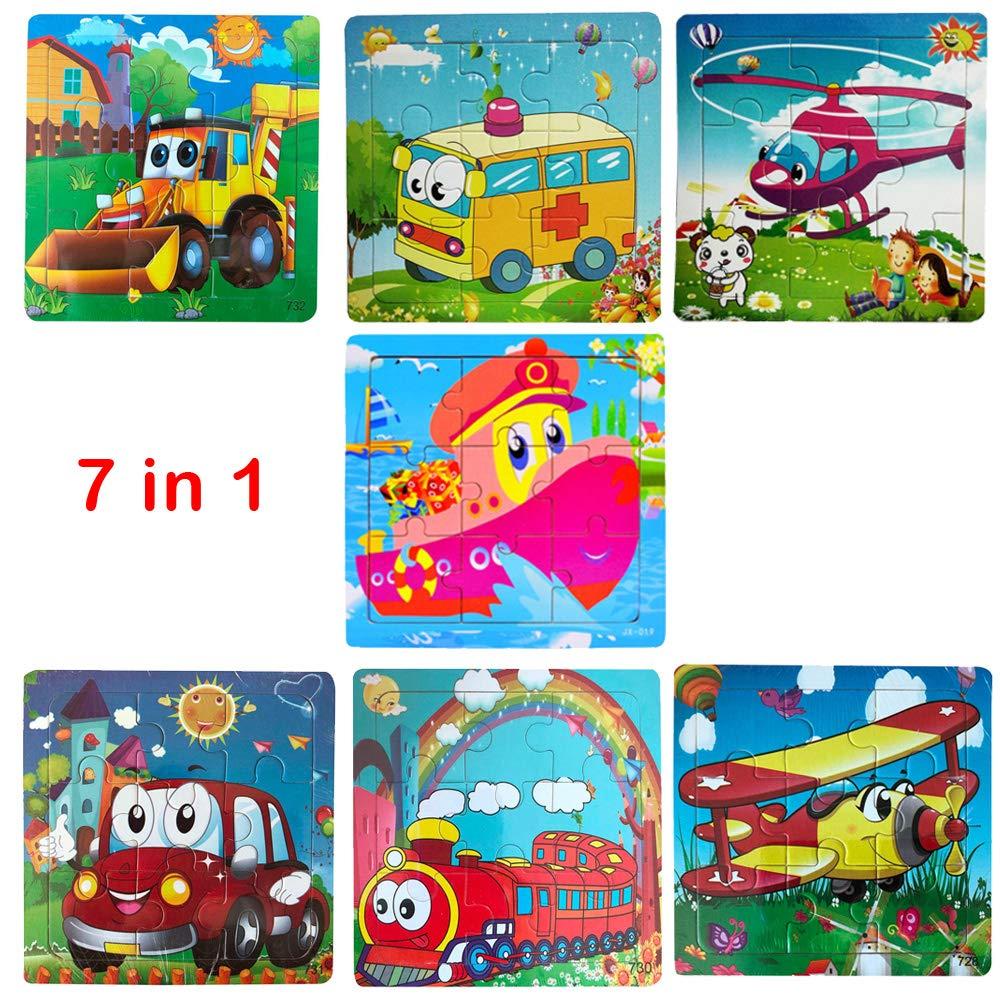 Amazon.com: Roysberry Toys - Puzzles de madera para niños ...