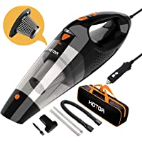 HOTOR Corded High Power Car Vacuum Cleaner (Orange)