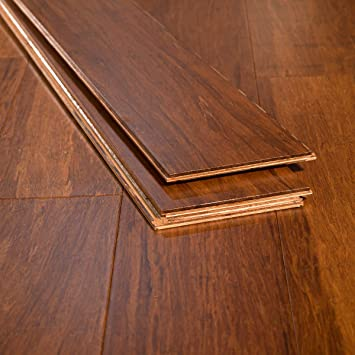 Ambient Bamboo Bamboo Flooring Sample Color Carbonized 6 Ft