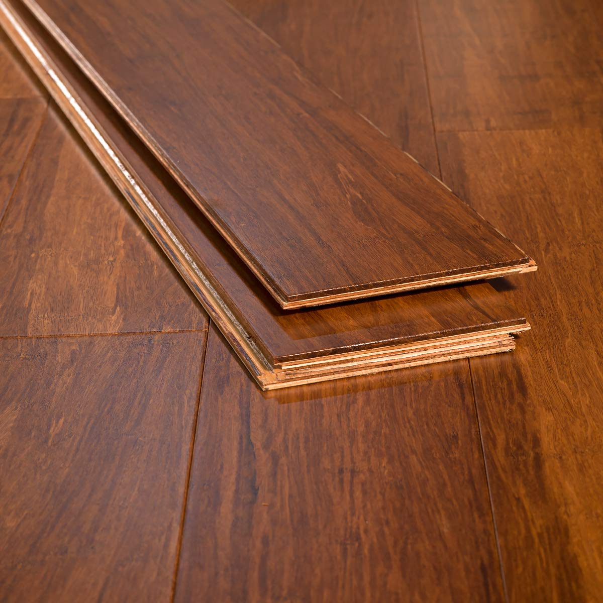 Vinyl Plank Flooring Vs Bamboo: Home Legend Solid Bamboo Flooring Toast