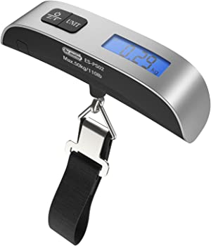 Dr.meter 110lb/50kg Electronic Balance Luggage Hanging Scale