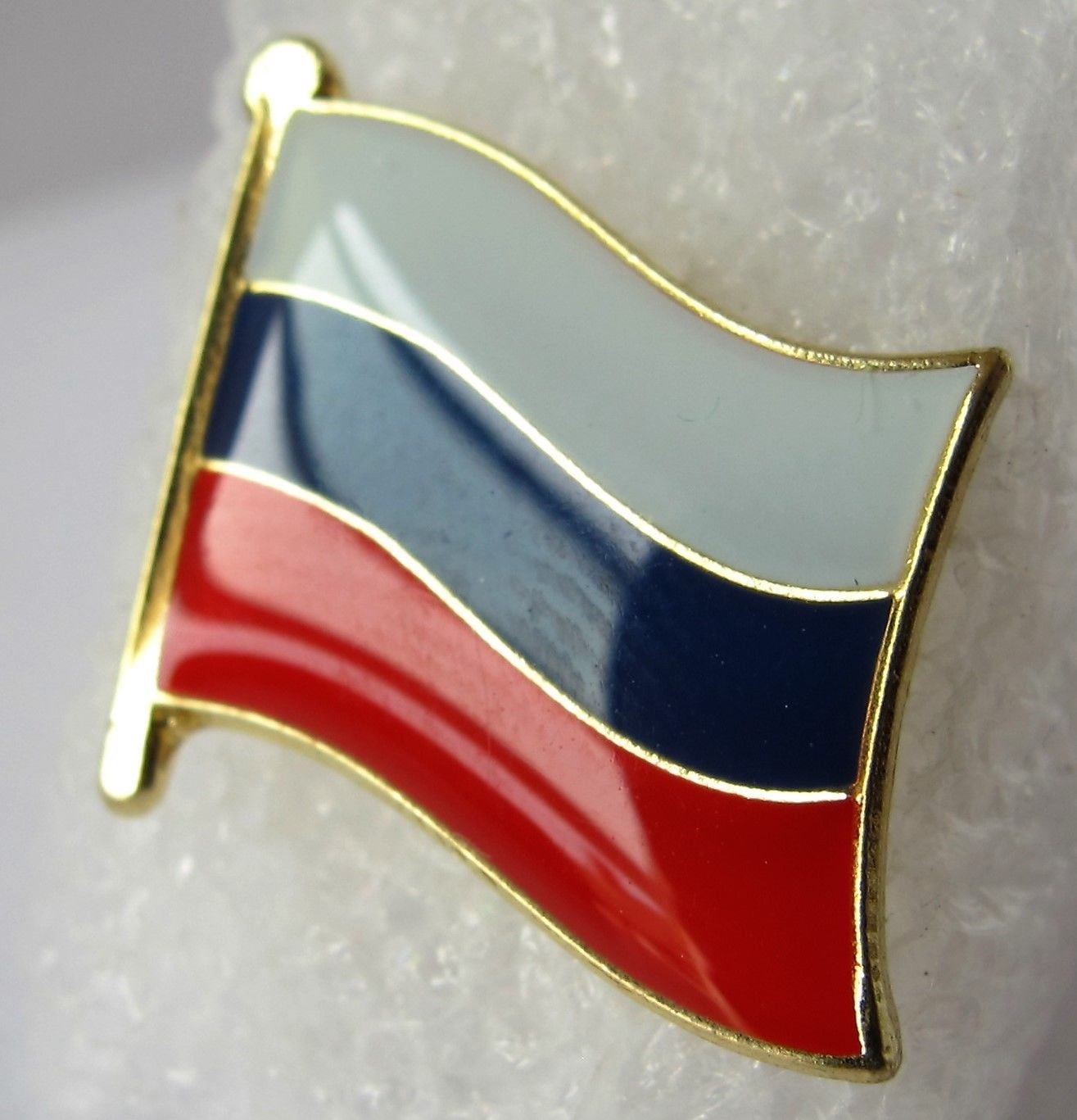 Details about Russia Russian Россия Русский Flag Gloss Enamel Badge British Badges